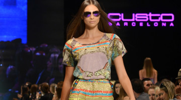 Custo Barcelona at Miami Fashion Week