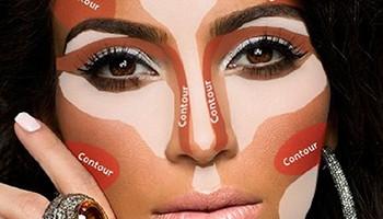 Kim-Kardashian-Contouring-Makeup-Guide