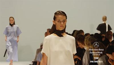 Tome Mercedes Benz Fashion Week SS Australia 2016