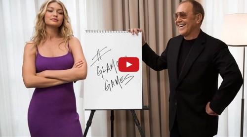 Gigi Hadid and Michael Kors