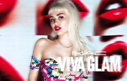 Miley Cyrus MAC campaign