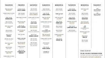 NYFW The Shows - Schedule - Sept 10-17