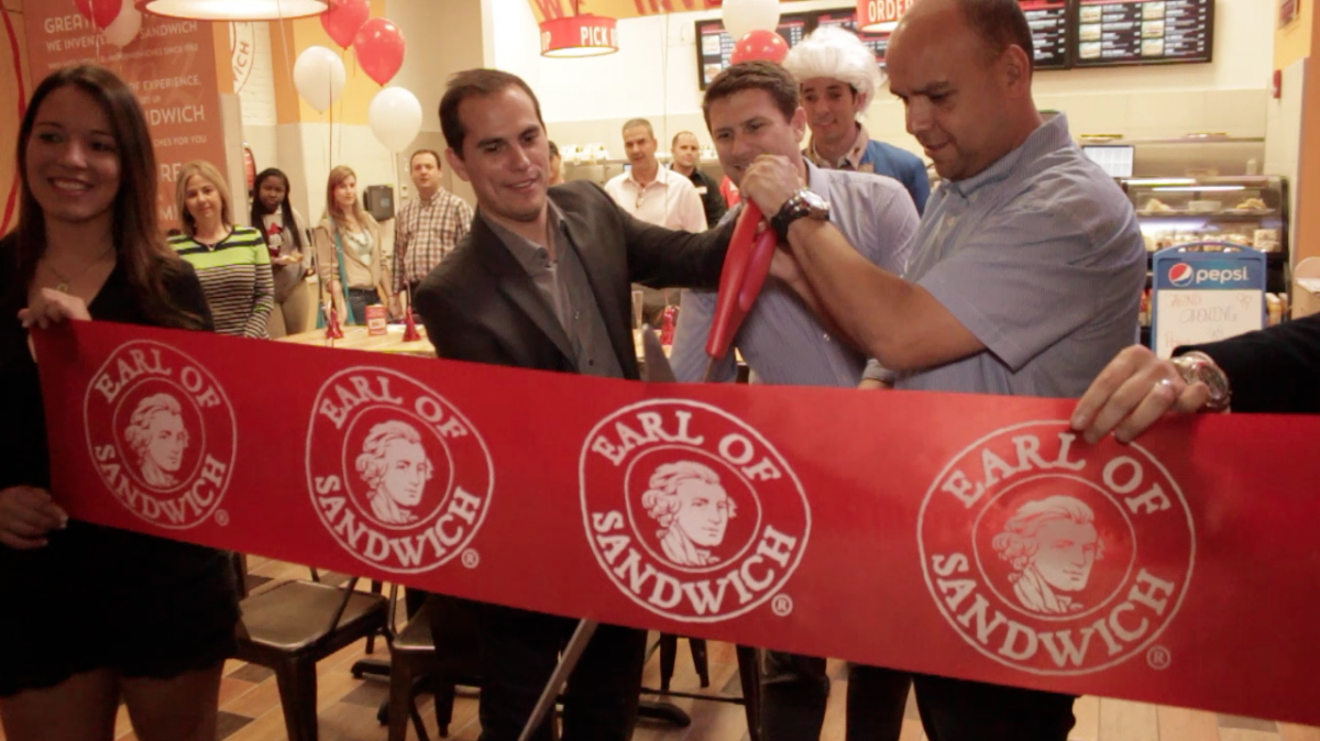 Grand Opening Earl of Sandwich Wynwood Miami