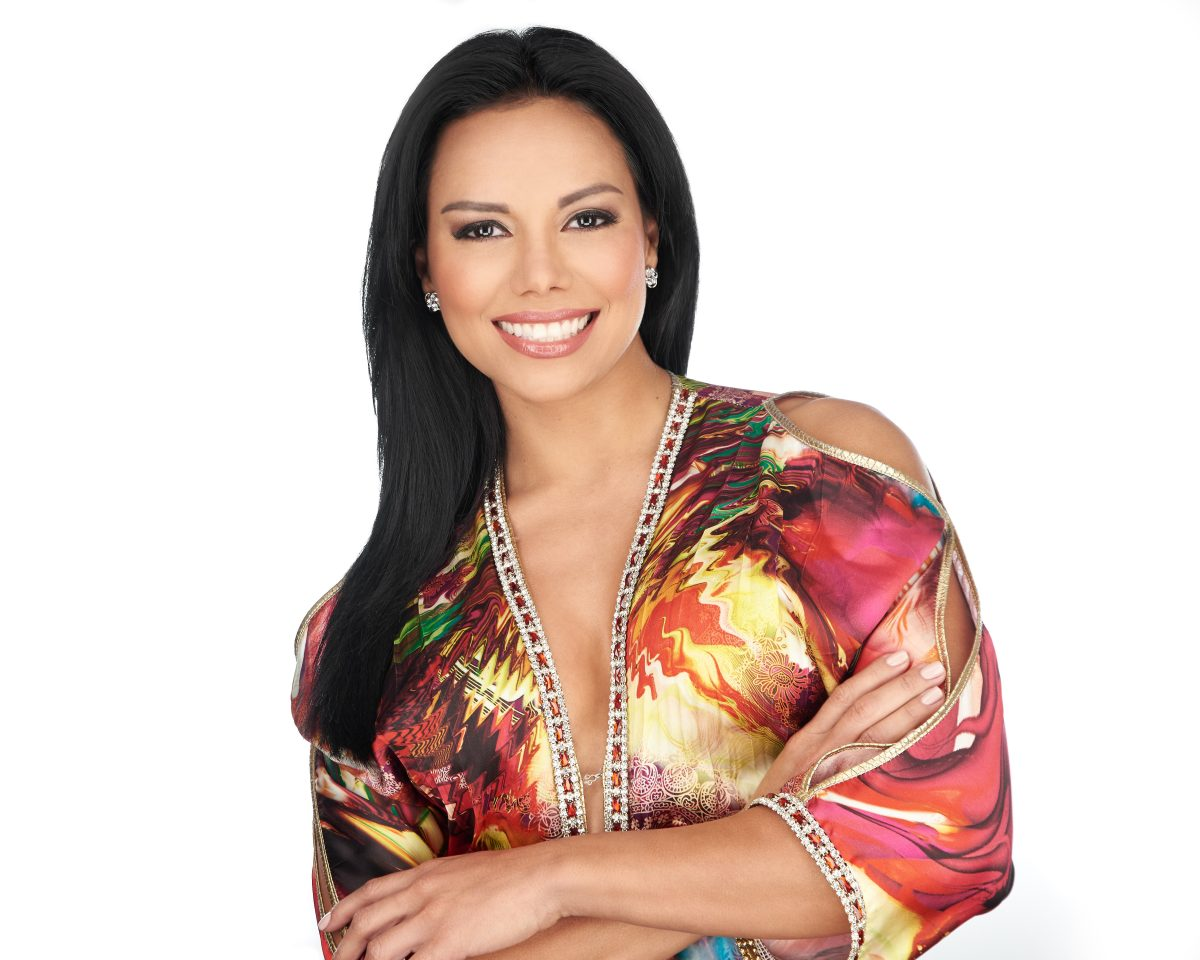 Helena Rodriguez, actress, tv-host, and model - Photo: Malena Vasquez Studio