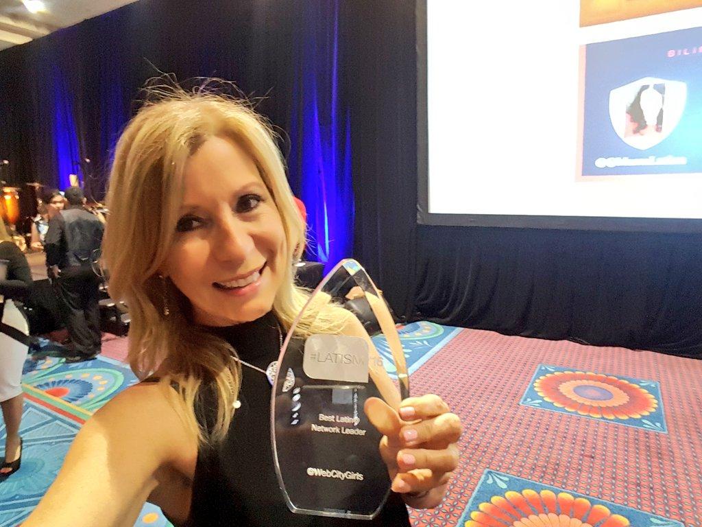 Lynn Ponder Latism award
