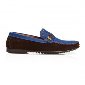 BUB-Loafer-Santino Fontana Brown Suede