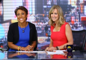 Robin Roberts and Lara Spencer on GMA - New York Style Guide
