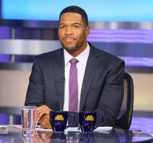 Michael Strahan  on GMA - New York Style Guide