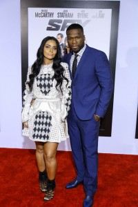 50 Cent with date Nancy Babochian