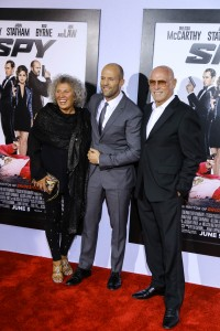 Jason Statham with Parents