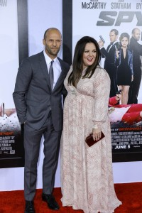Jason Statham with Melissa McCarthy